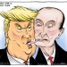 Vladimir Putin and Donald Trump Tonguing