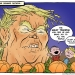 Donald Trump as The Great Pumpkin