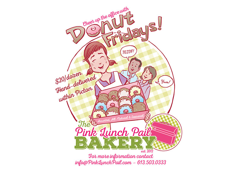 Donut Fridays Poster