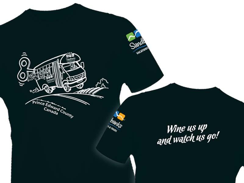 Sandbanks Vacations T-shirt