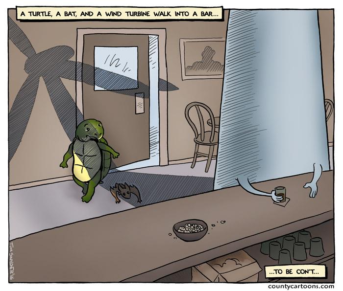 Turtle Bat Turbine
