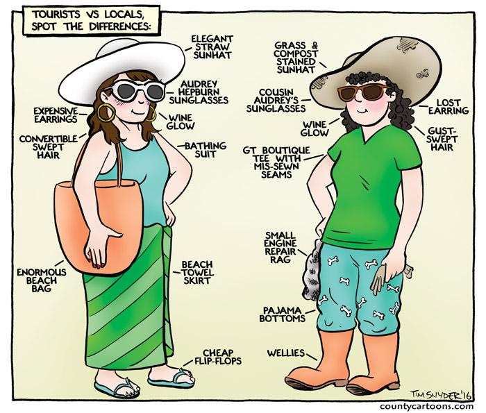 Tourist vs Local