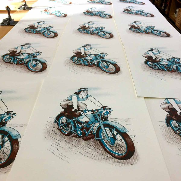 Bantam Betty Freshly Printed