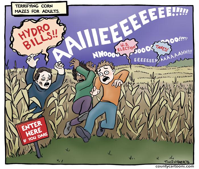 Corn maze horror