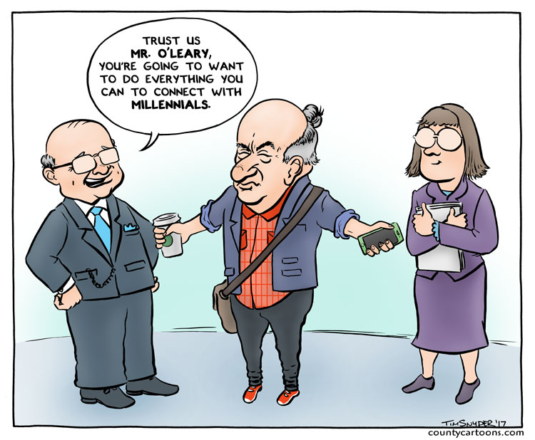 Kevin O'Leary Millennials