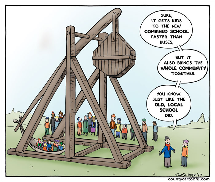 Trebuchet - School Closure
