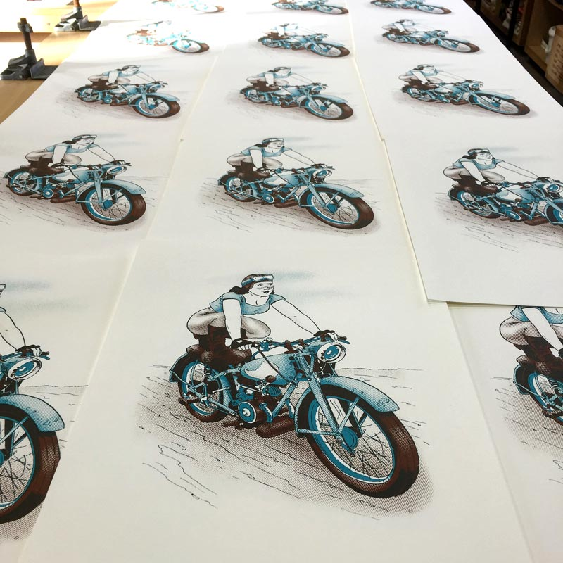 Bantam Betty Prints