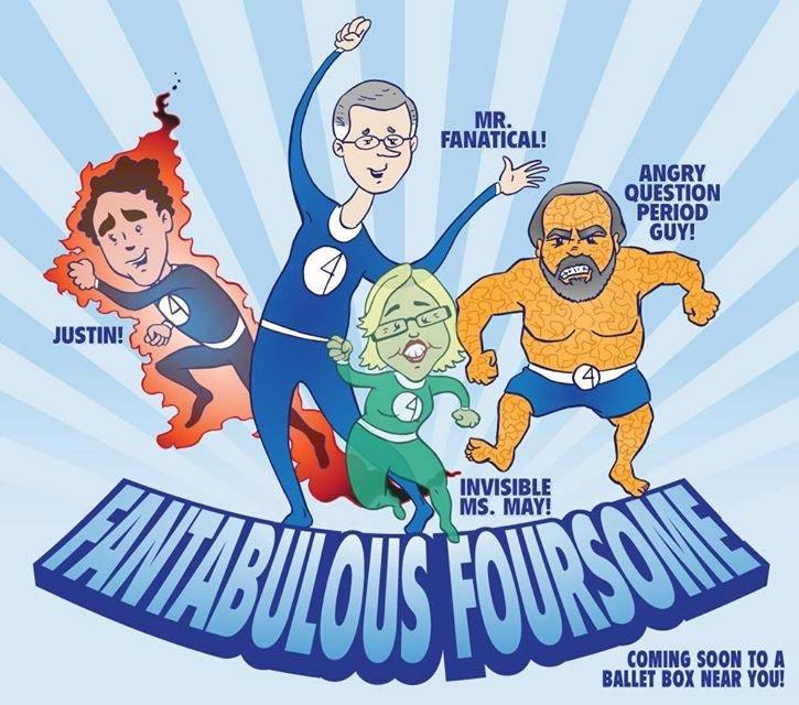 Fantabulous Four
