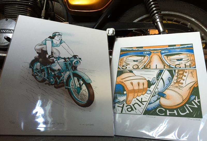 Motorcycle Prints