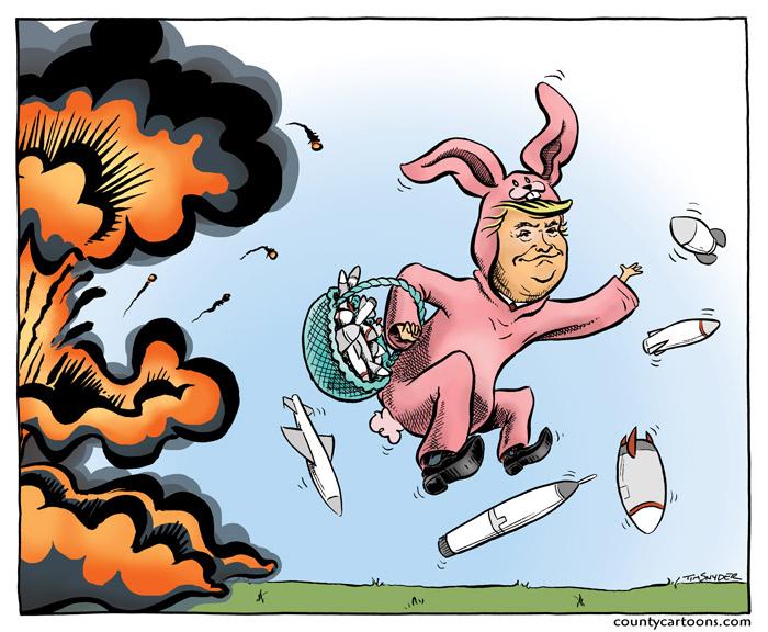 Donald Trump Easter Bunny