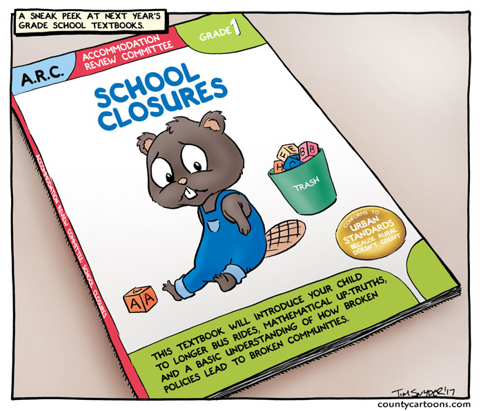 School Closure Textbook