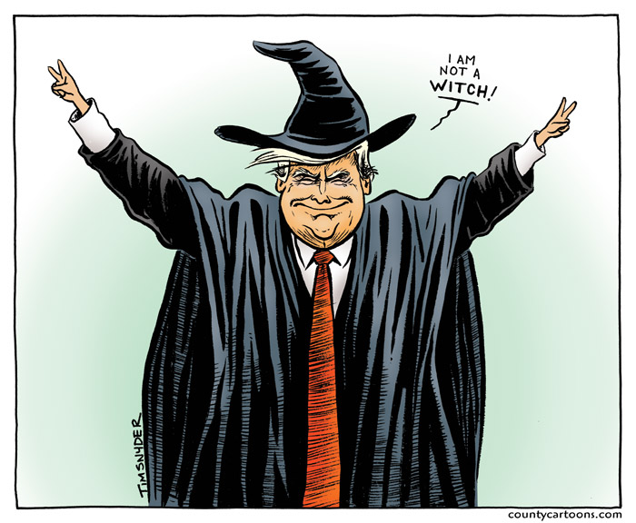 Trump is Not a Witch