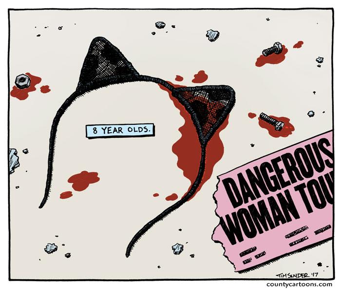 Dangerous Woman Bombing