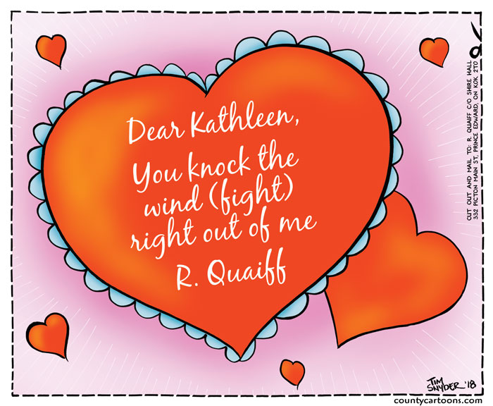 Valentine's Card for Quaiff