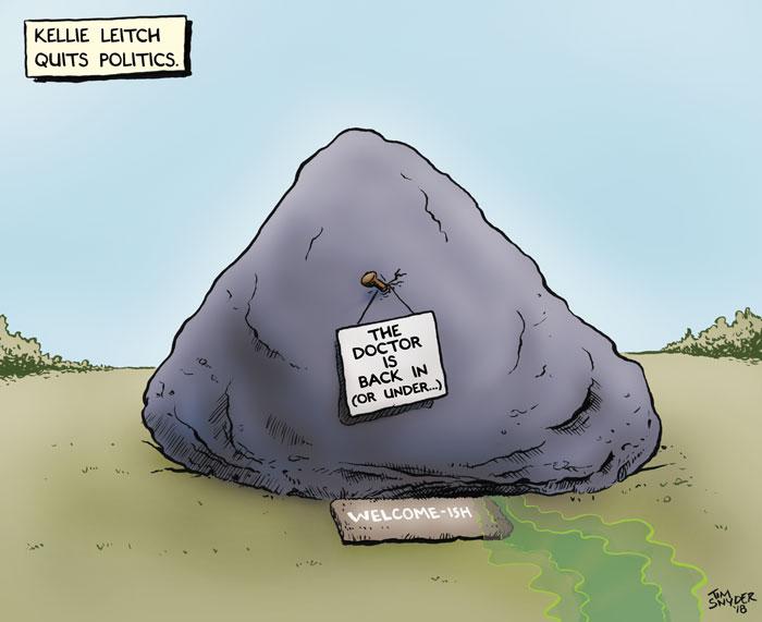 Leitch Quits Politics
