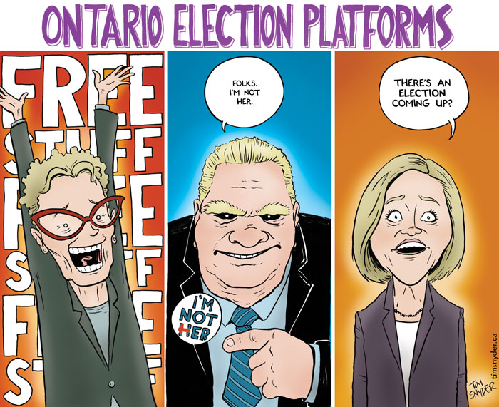 Ontario Election Platforms