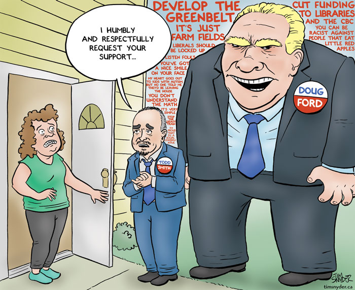 Todd Smith Doug Ford
