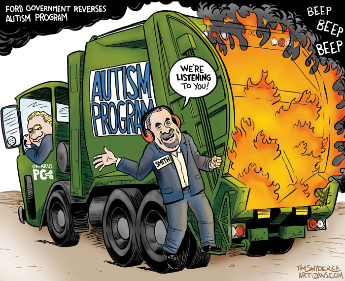 Autism Garbage Fire
