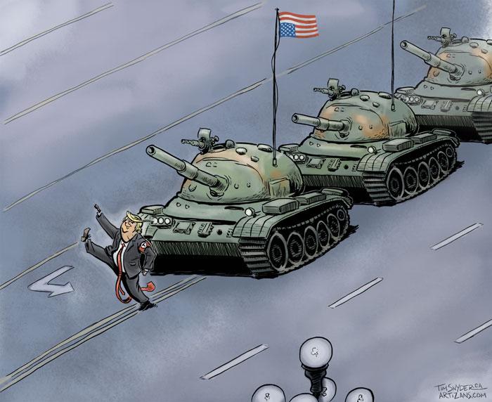 Tiananmen Trump