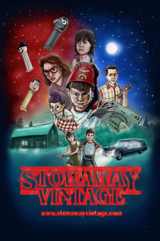 Stowaway Vintage - Stranger Things