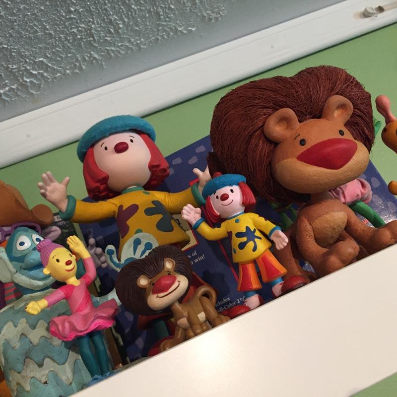 Jojos Circus Puppets