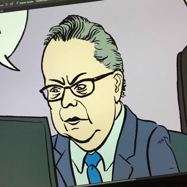 Mayor Quaiff close up